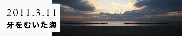 2011.3.11 牙をむいた海