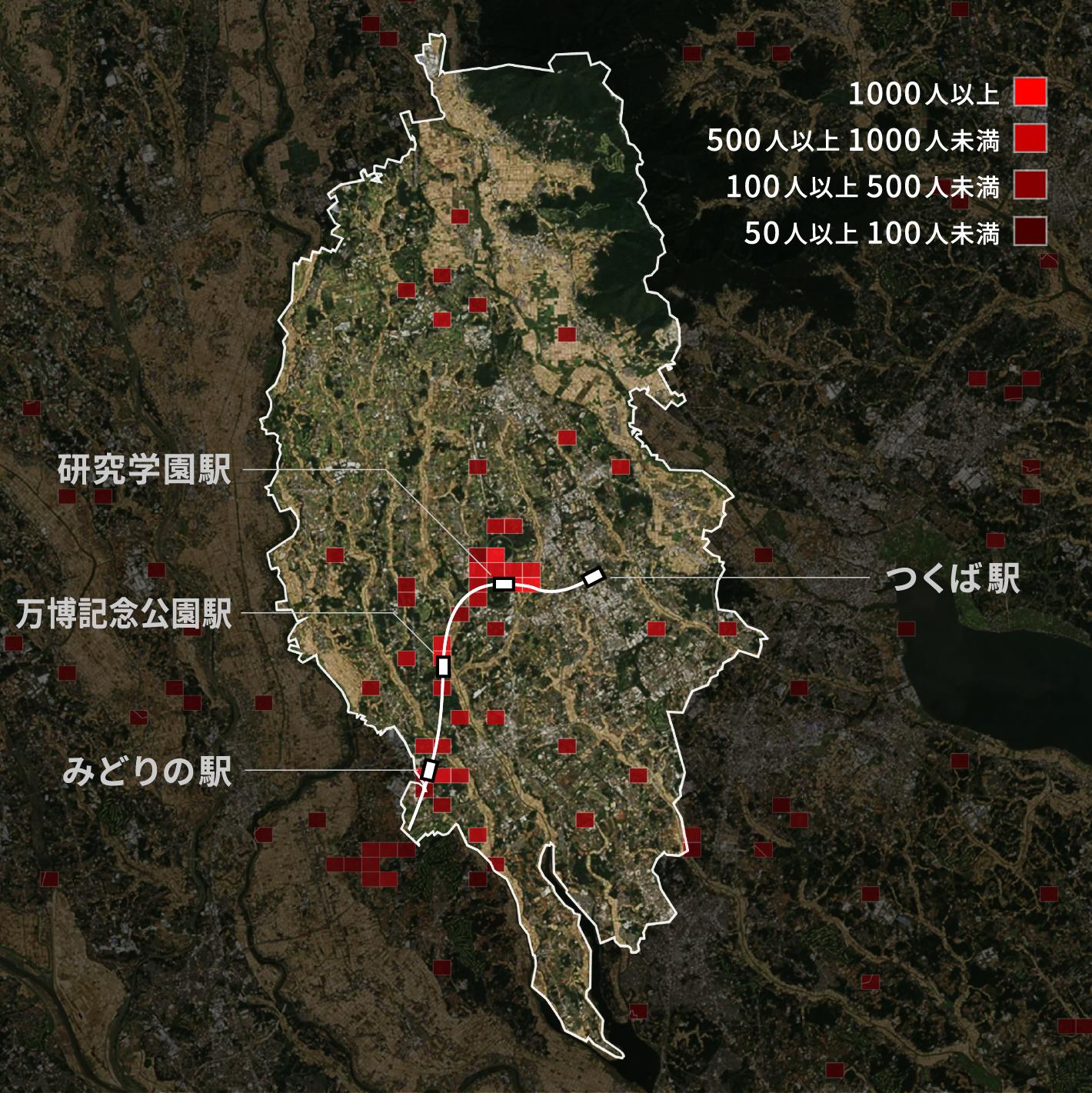 遠いコンパクトシティー 止まらぬ居住地膨張:日本経済新聞
